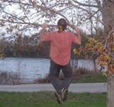Pull ups on a tree