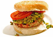 Spicy Tuna Burger