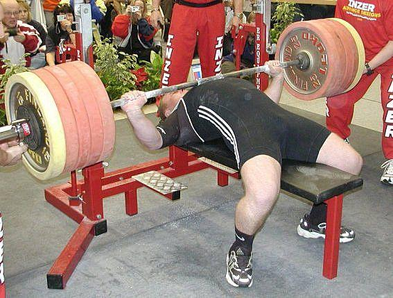 Heavy Bench Press