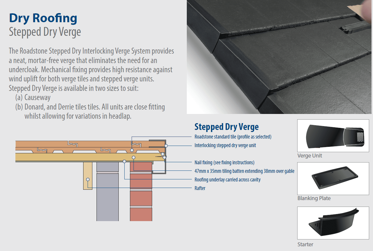 Download Stepped Dry Verge Fitting Guide
