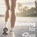 Female running on street solo