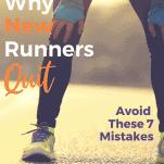 tired female runner bent over