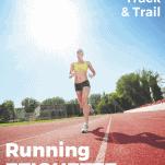 running etiquette - female runner on track