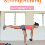 female strengthening glutes with exercise