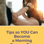 female runner stretching her legs for morning run