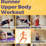 runner upper body workout female