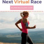 female running virtual race solo