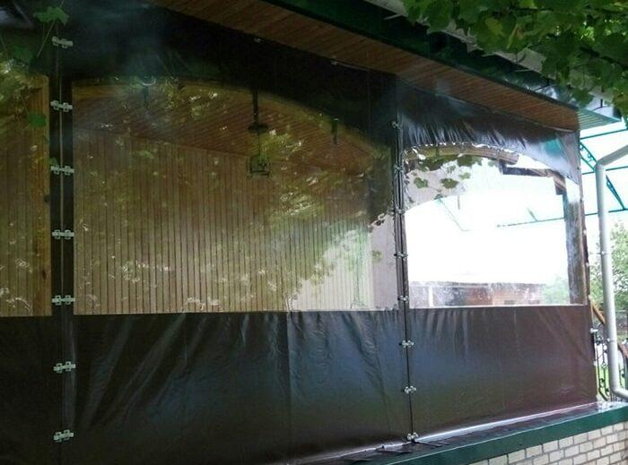 Комбинированные ПВХ шторы