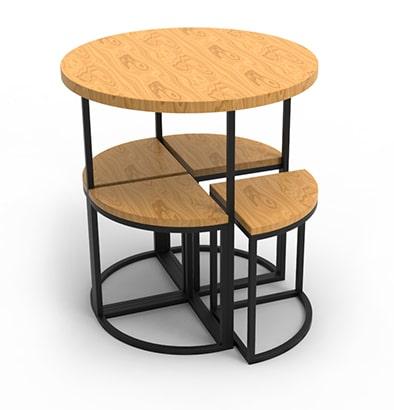 Мебель лофт Харьков - Комплект стол-стулья –