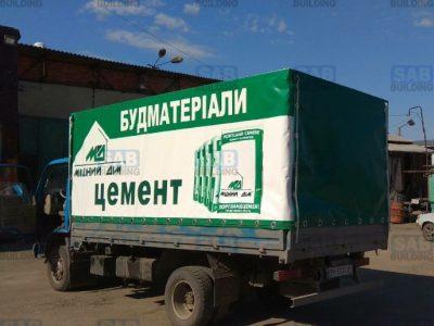 Печать на тенте для грузовика