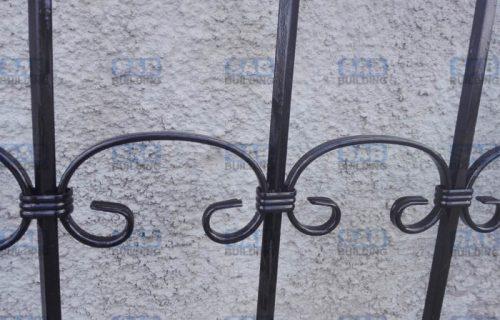 Кованные элементы решетки на окна