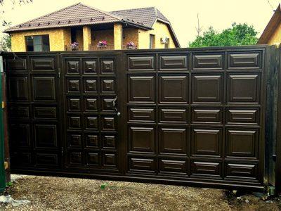 филенчатые ворота заказать в Харькове