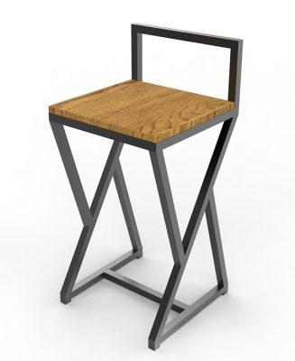 Барные стулья лофт фото