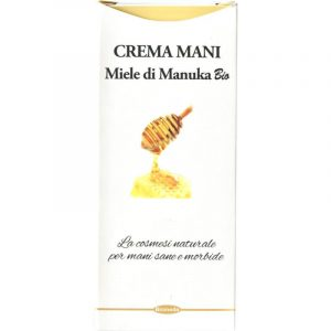Crema Mani e Unghie Idratante con Miele di Manuka