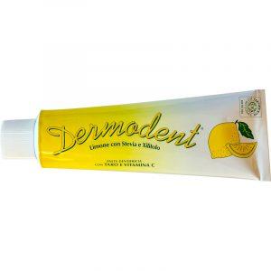Dermodent Pasta Dentifricia Limone con Stevia e Xilitolo