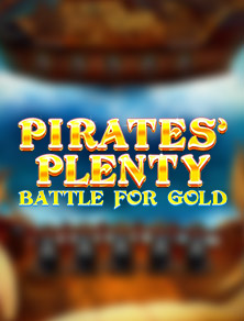 pirate's plenty battle for gold videoslot red tiger
