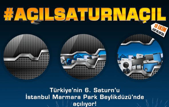 Dünya'nın ilk 'Future Store' konseptli Saturn'u, İstanbul Marmara Park Beylikdüzü'nde! #açılsaturnaçıl