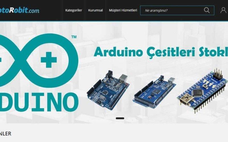 Raspberry Pi Aksesuarları ve Robotik Malzemeler Motorobit.com'da
