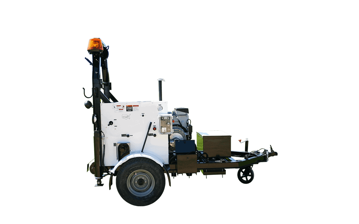 Bucket Machine, Pull-In and Truck Loader