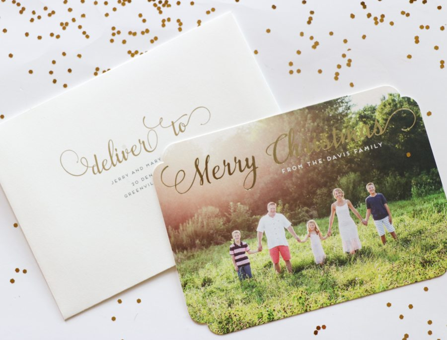 My Love for Minted Continues – Christmas Cards