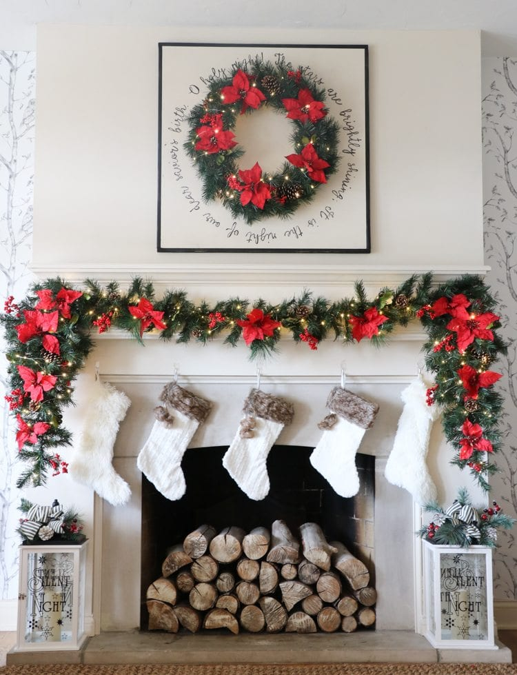 The Home Depot Holiday Style Challenge – Mantel Reveal