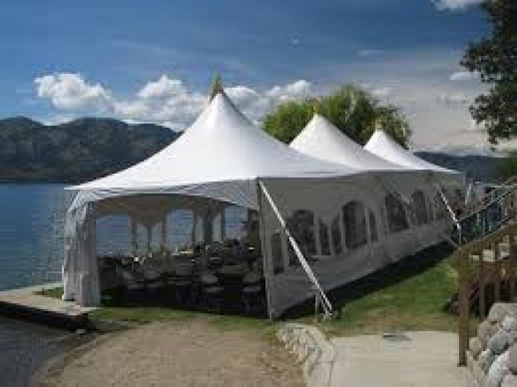 20 x 60 Marquee Tent with side walls/windows