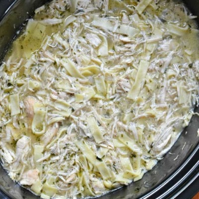 Crockpot Chicken and Noodles