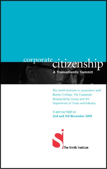 Corporate Citizenship A Transatlantic Summit