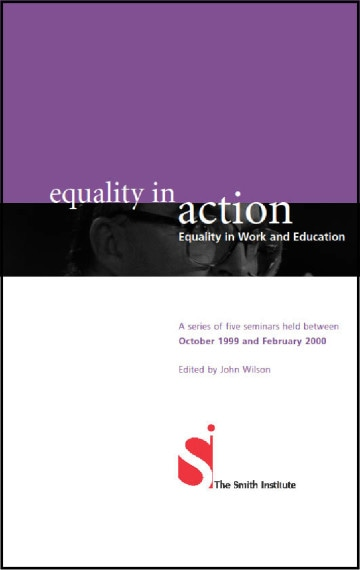 Equality in Work and Education: A Series of Five Seminars