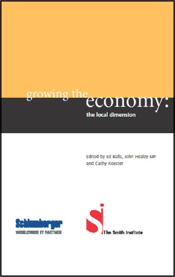 Growing the Economy: The Local Dimension