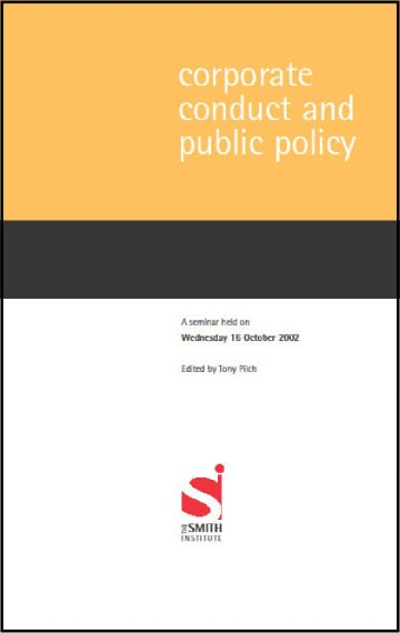 Corporate Conduct and Public Policy