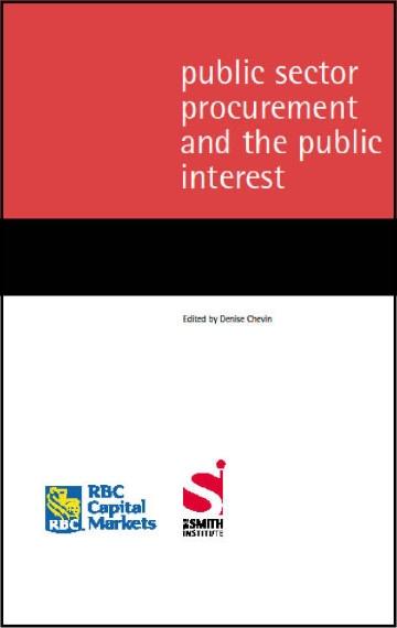 Public Sector Procurement and the Public Interest