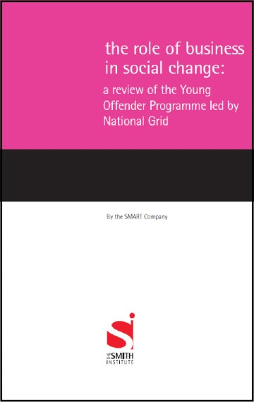 The Role of Business in Social Change: A Review of the Young Offender Programme led by National Grid