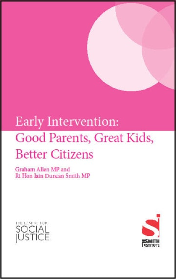 Early Intervention: Good Parents, Great Kids, Better Citizens