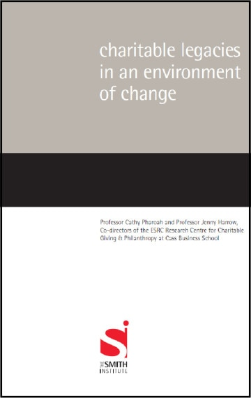 Charitable Legacies in an Environment of Change