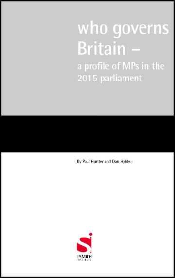 Who governs Britain – a profile of MPs in the 2015 parliament