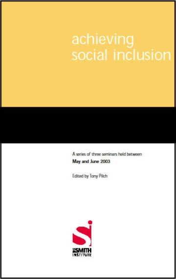 Achieving Social Inclusion