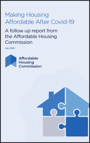 Making Housing Affordable After Covid-19: A follow up report from the Affordable Housing Commission