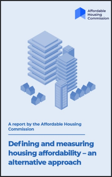 Defining and measuring housing affordability – an alternative approach