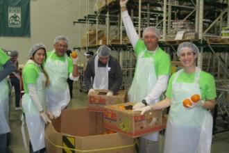 Chicago Food Depository volunteers