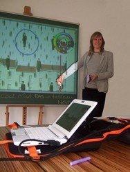 Tableau interactif eBeam craie