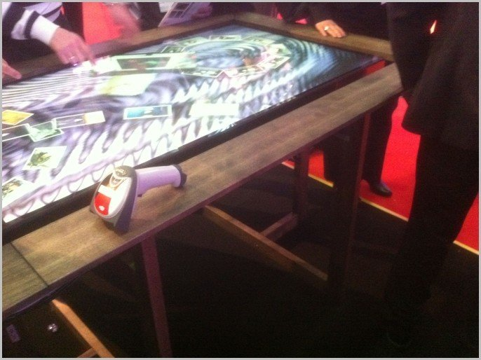 Table interactive multitouch