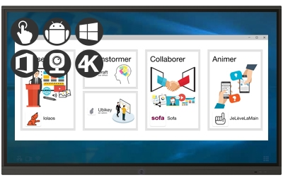 Speechi Touch Pro: The range of interactive displays for professionals