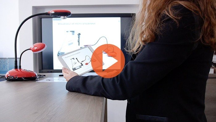 Visualiseur tablette IPAD ANDRoïd (collaboration)