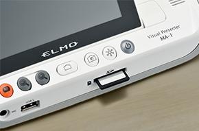 visualiseur elmo ma-1 mo-2 speechi video carte sd