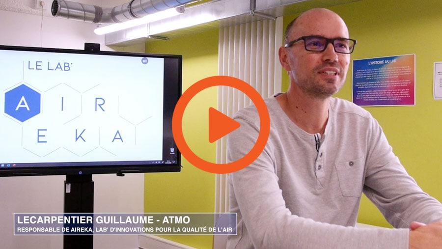 la vidéo du témoignage ATMO sur écran interactif SpeechiTouch SuperGlass
