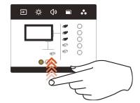 geste écran tactile changer de source vidéo