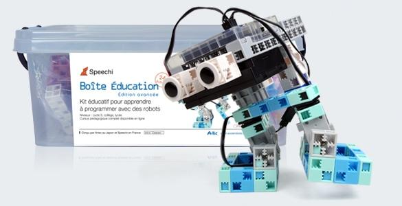 kit pédagogique pour enseigner Scratch au collège avec des robots