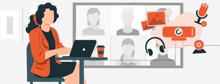 visioconférence écran interactif salle de réunion