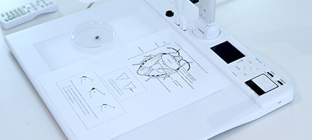 Visualiseur de bureau A3 uhd entreprise